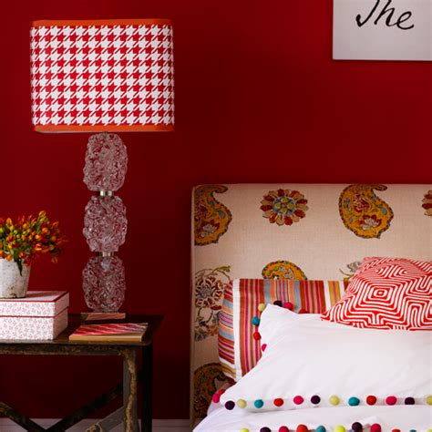 red table for bedroom bedroom lighting scheme with red houndstooth table l