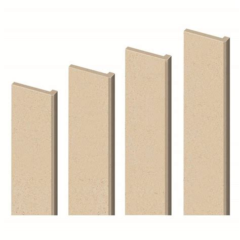 shop transolid decor matrix khaki sand shower wall trim kit at lowes