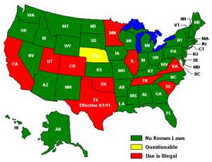 Speed Limit Map Usa by Usa Laser Jammer Laws Guys Of Lidar