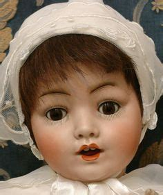antique bisque baby doll replica bye lo baby baby doll molds not fond of them though