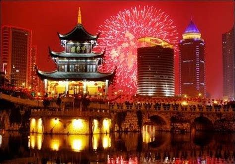 shanghai new years 2016 live china new year s 2016 fireworks