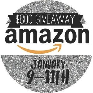 Amazon Gift Card History - contest win a 800 amazon gift card ends 1 11 at 10 est