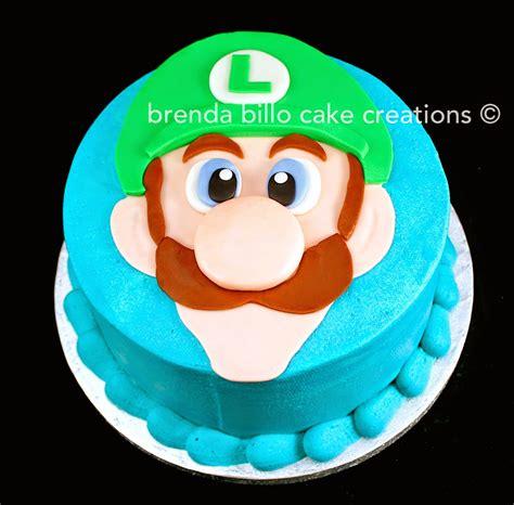 brenda billo cake creations luigi face