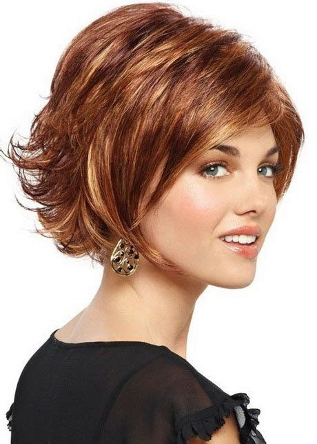 hair cuts away from face layered short haircuts 2016