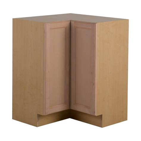 Kitchen Corner Furniture Hton Bay Assembled 27 7 In X 34 5 In X 27 7 In Easthaven Lazy Susan Corner Base Cabinet In