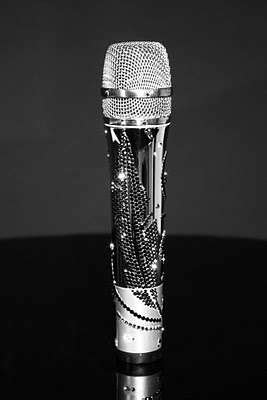 Crystal Studded Microphones : CrystalRoc