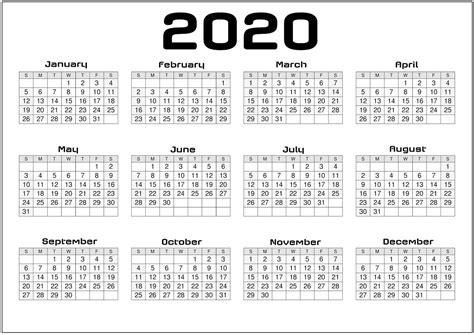 yearly calendar  printable   agenda calendar shelter