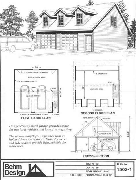 shop plans with loft 17 best images about garage plans on pinterest