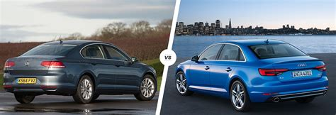 volkswagen cc vs passat vw passat vs audi a4 which is best carwow