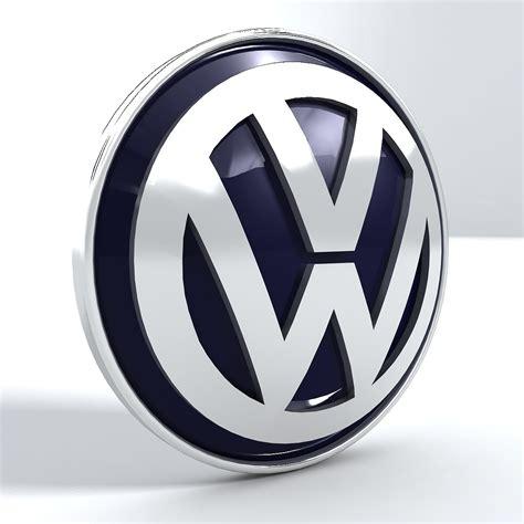 vw logos volkswagen vw logo 3d model max obj 3ds fbx stl dwg