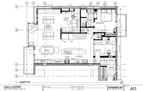 floor plan cad rimmer nissen penthouse green archinect