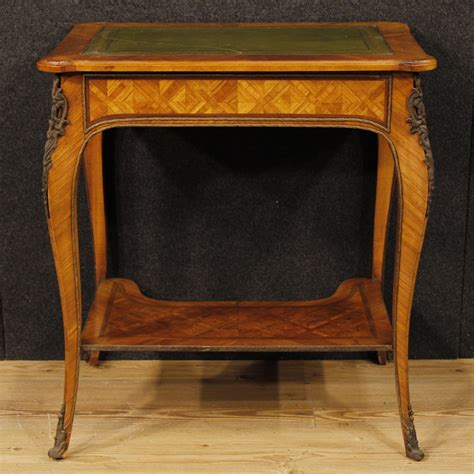 french writing desk for sale mid century french inlaid writing for sale at pamono
