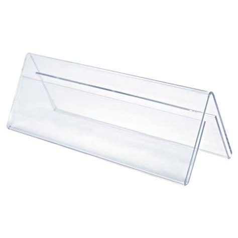 Acrylic Tent Card acrylic sided card tent holders plasticsland