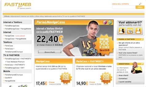 a casa senza rete fissa fastweb nuove offerte per la rete fissa e io
