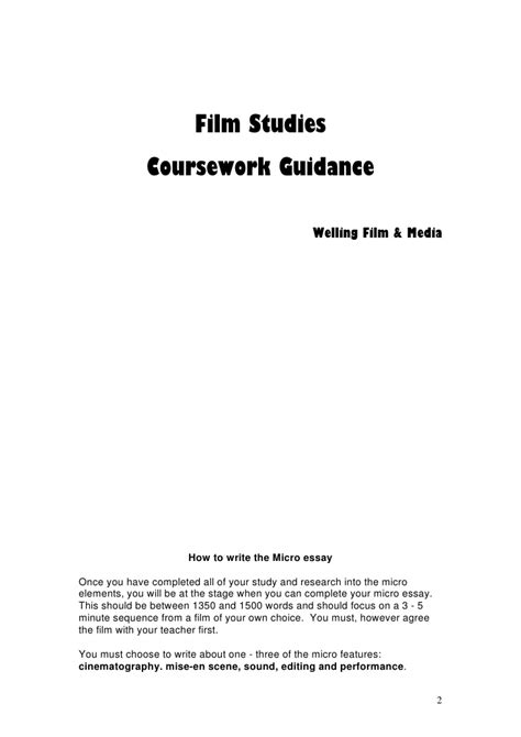Fm1 How To Write The Micro Features Essay by Fm1 How To Write The Micro Features Essay