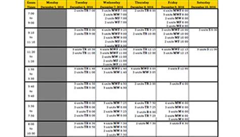 Cal State La Academic Calendar Semester Calendars And Time Modules California State