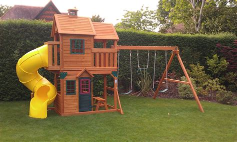 playground sets for backyards costco wooden playsets costco panorama selwood climbing frame