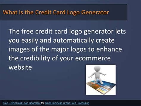 Credit Card Template Maker by Free Credit Card Processing For Small Business Gallery