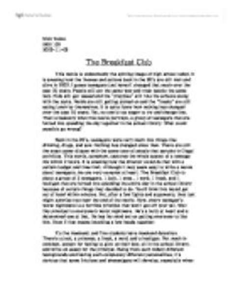 The Breakfast Club Essay by The Breakfast Club Essay Breakfast Club Andrew Clark Essay Ayucar