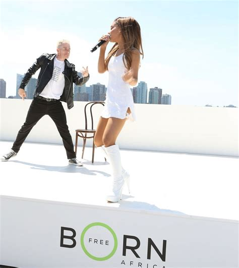 born ariana grande ariana grande performing at born free africa mother s day