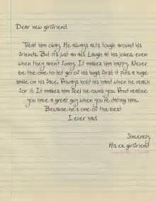 Sweet Break Up Letters Tumblr New Girlfriend On Tumblr
