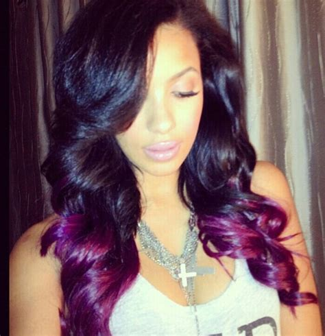 purple weave hairstyles pictures of 16 inch sew ins hairstyle gallery