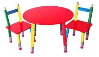Wooden Childrens Table Kids Wooden Pencil Table Amp Chairs Furniture Play Set New
