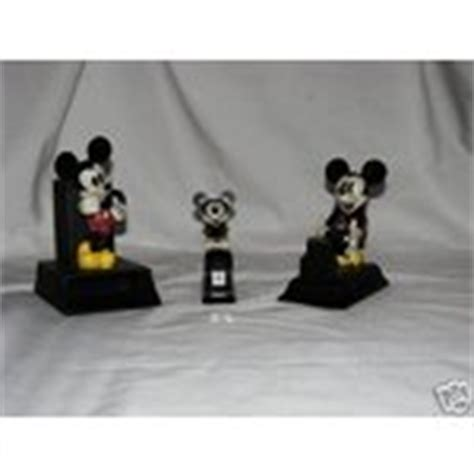 mickey mouse desk set stapler pen pencil holder