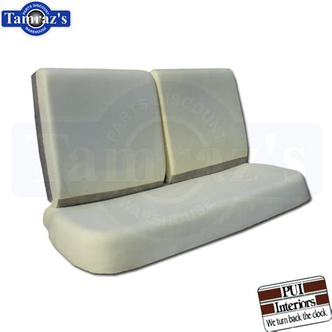 foam for bench seat 68 70 gm a x body front bench seat foam cushion 3 pieces