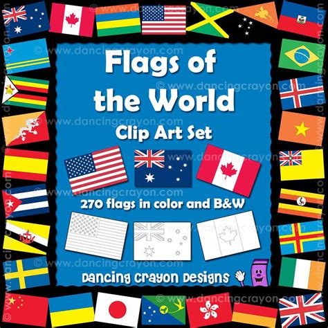 free printable clip art flags of the world world flags border clip art 18