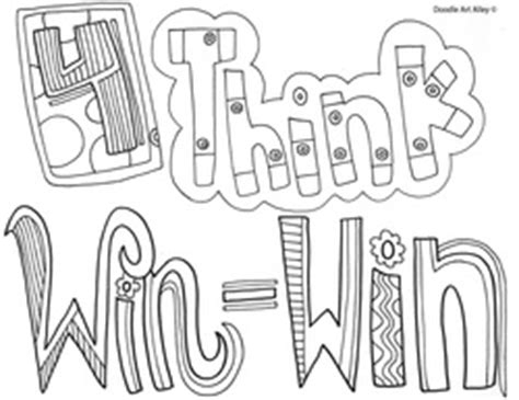 seven habits coloring sheets coloring pages