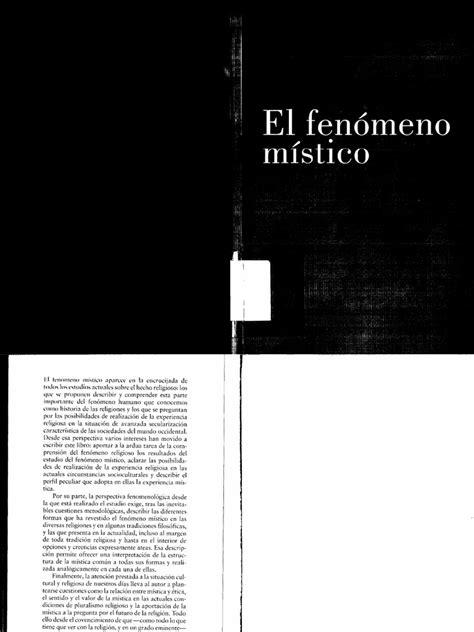 El fenómeno místico - Juan Martín Velasco | Misticismo