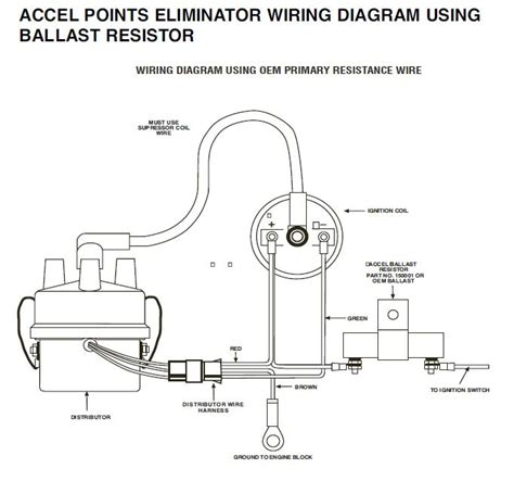 100 accel distributor wiring diagram stunning coil