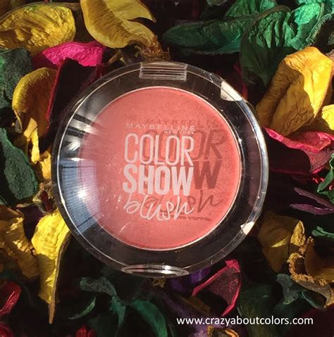 Blush On Maybelline Peachy Sweetie maybelline color show blush peachy sweetie review