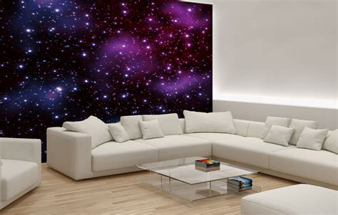 bedroom wall mural bedroom quot stars on the sky quot wallpaper murals by