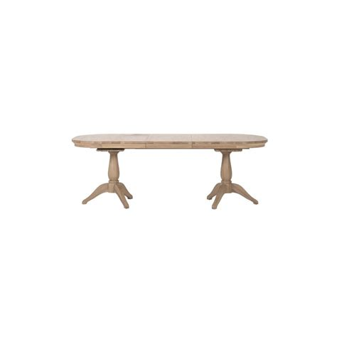 Neptune Henley Solid Oak Extending Dining Table And Henley Dining Table