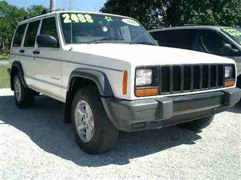 Jeep Right Drive Package Purchase Used 2000 White Jeep Factory Made Right