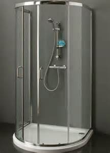 d shape shower enclosure 900mm x 1000mm one wall