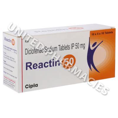 Cataflam 50mg Tablet Ecer 1 Tablet reactin 50 diclofenac sodium 50mg 10 tablets united pharmacies uk