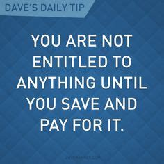 dave ramsey quotes images money saving tips