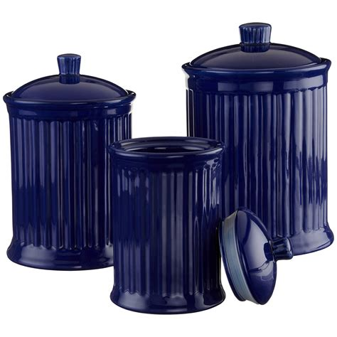 blue kitchen canister food decor blue kitchen appliances and accessories