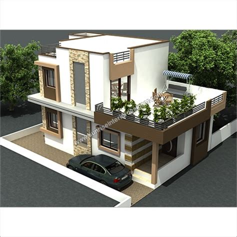 3d 2d architectural model 3d model home design service