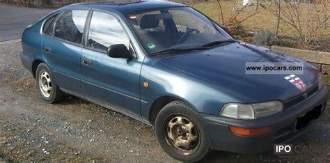 Toyota Corolla Hatchback 1993 1993 Toyota Corolla Liftback 4 1 Xli Car Photo And Specs