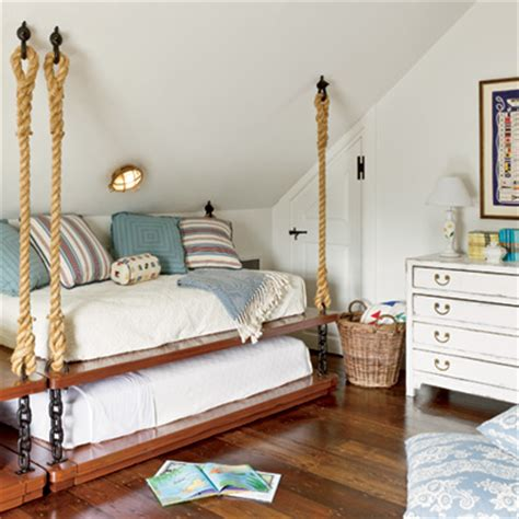 hanging bunk beds 25 fabulous nautical rooms for kids design dazzle