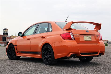 orange subaru wrx 2013 subaru wrx sti special edition autoblog