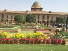 a visit to mughal gardens rashtrapati bhawan a few
