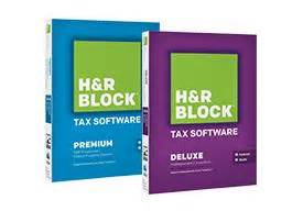 H&R Block Tax Software For As Low As $24.99 H And R Block 2015 Tax Software Deals