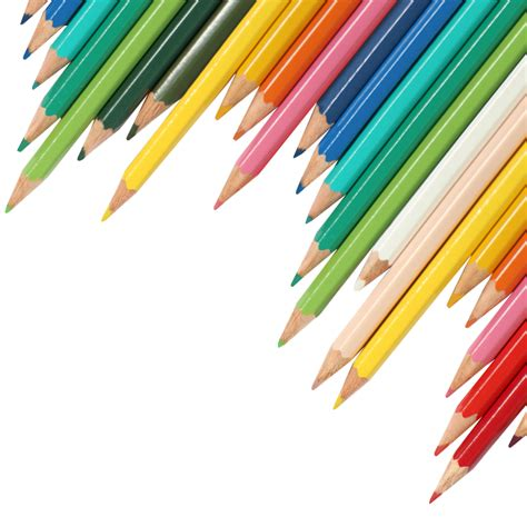 background color transparent coloured pencils transparent image