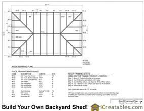 Roof Dormer Framing 12x20 Hip Roof Shed Plans