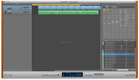 Garageband Looper Gigaom Garageband 101 Using Apple Loops To Help Songwriting